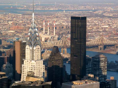 Foto des Chrysler Buildings